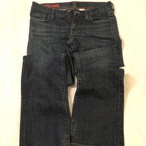 J.Crew Hipslung jeans